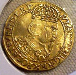 Orginal Poland gold ducat 1637